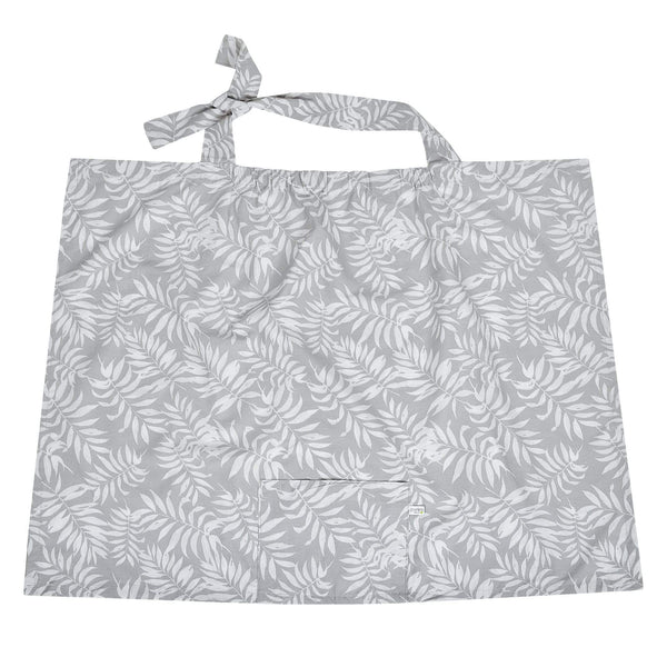 Breastfeeding cover - tropical grey