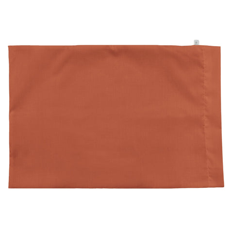 Small pillow case - rust