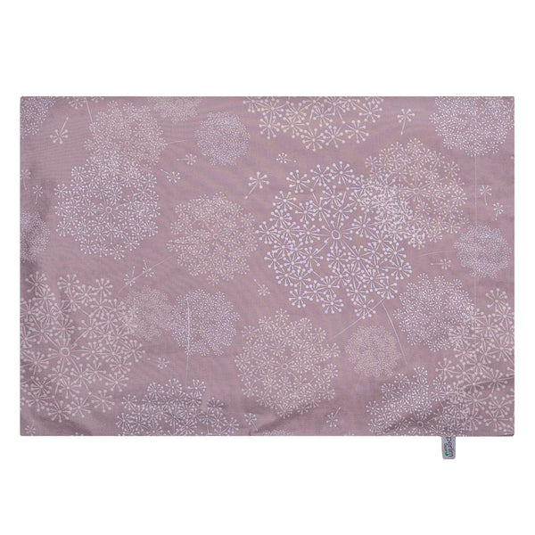 Small pillow case - Plum dandelions