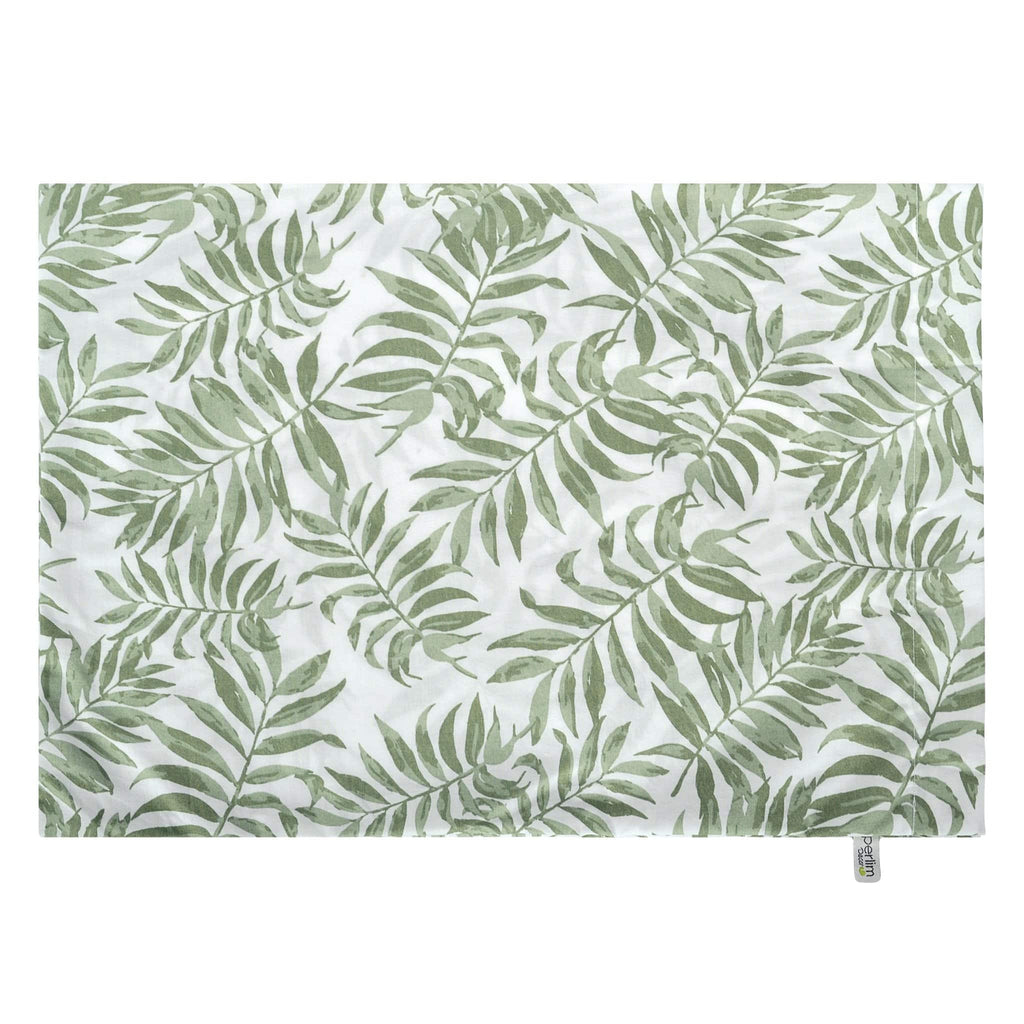 Small pillow case - Tropical green