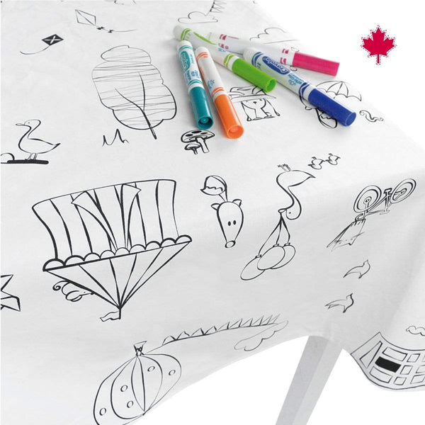 Tablecloth - To Color