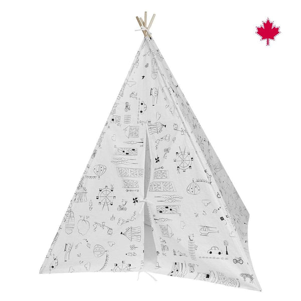 Teepee tent - To Color