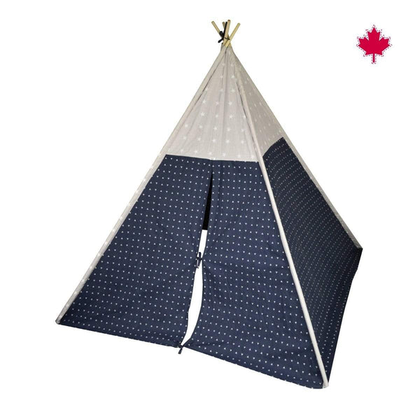 Tipi - navy triangle