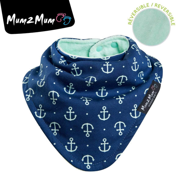 Reversible fashion bandana