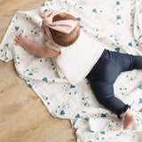 Cotton muslin swaddle - Bunnies