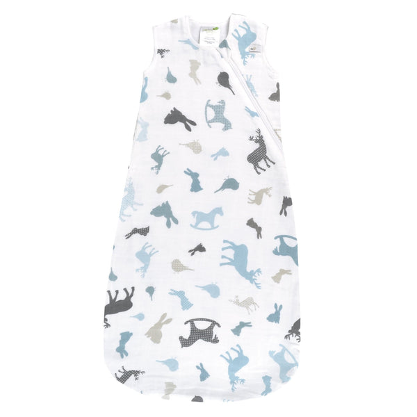Cotton muslin sleep bag - Animals
