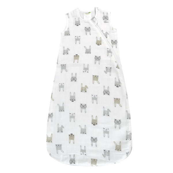 Cotton muslin sleep bag - Bunnies