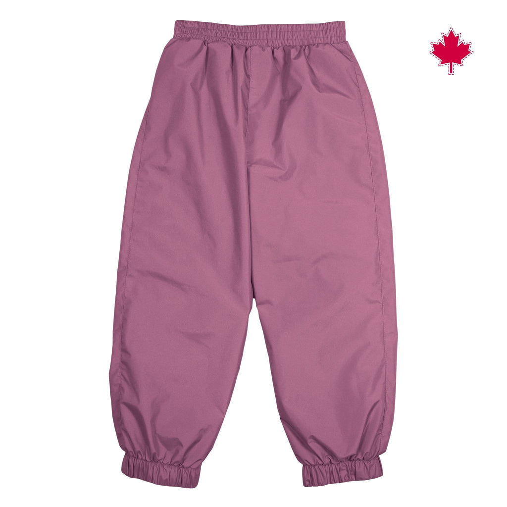 Mid-season splash pant - TAFFETA Prunette