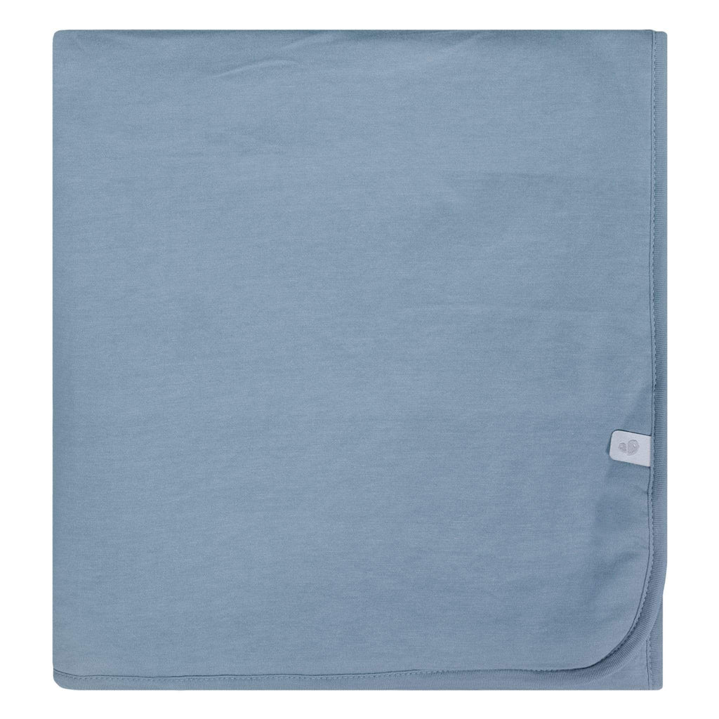 Bamboo blanket - steel blue