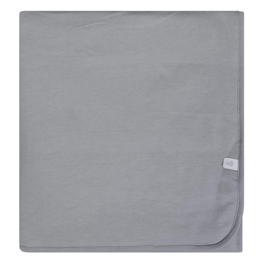 Bamboo blanket - pebble gray