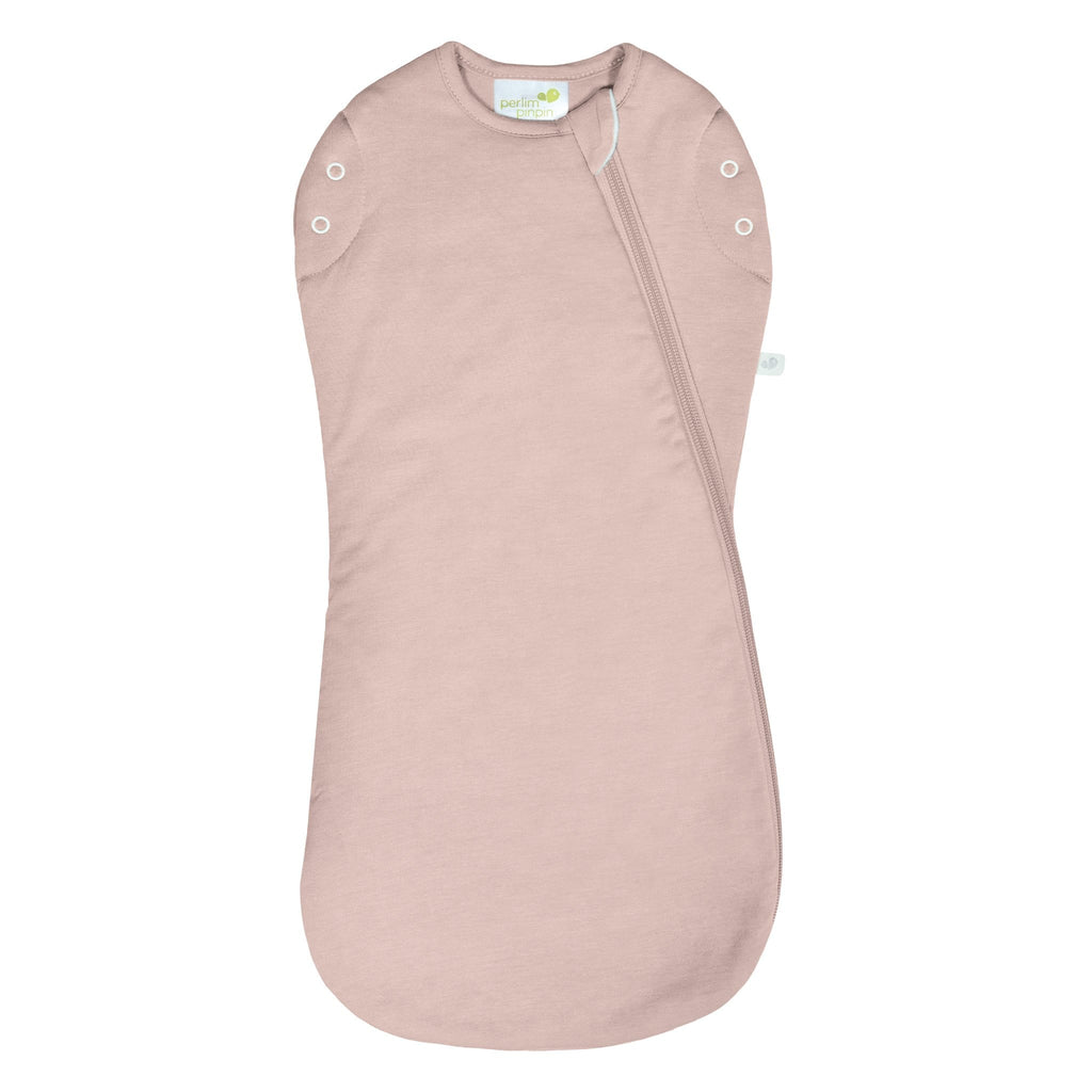 Bamboo newborn sleep bag - pink (1.0 tog)