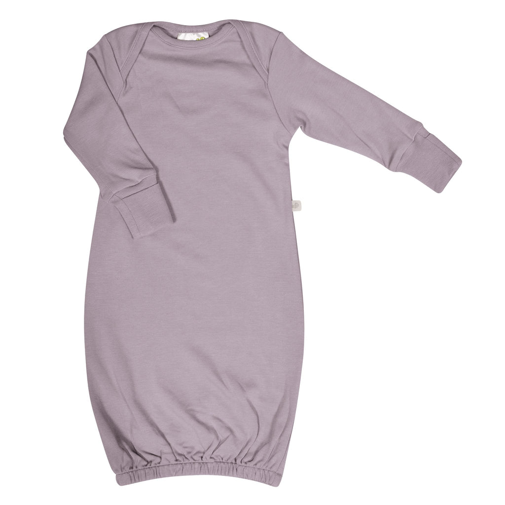 Bamboo baby nightgown - plum