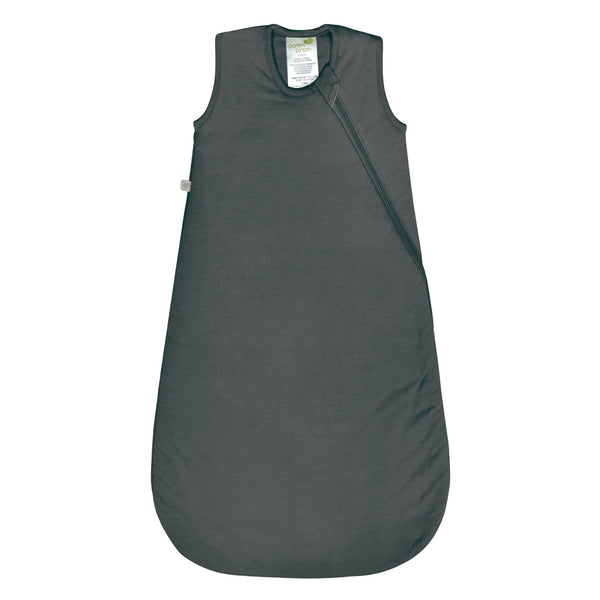 Quilted bamboo sleep bag - charcoal (1.0 tog)