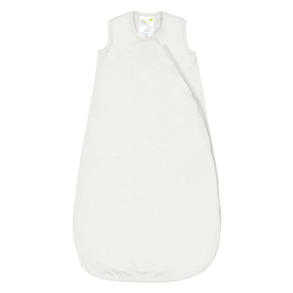 Quilted bamboo sleep bag - ivory (1.0 tog)