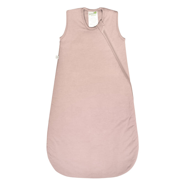 Quilted bamboo sleep bag - pink (1.0 tog)