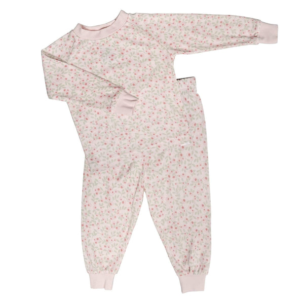 Bamboo pajama set - flowers