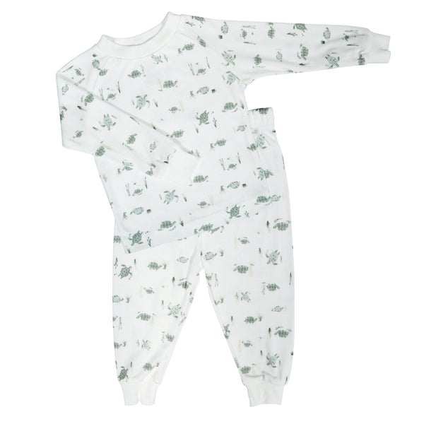 Bamboo pajama set - turtles