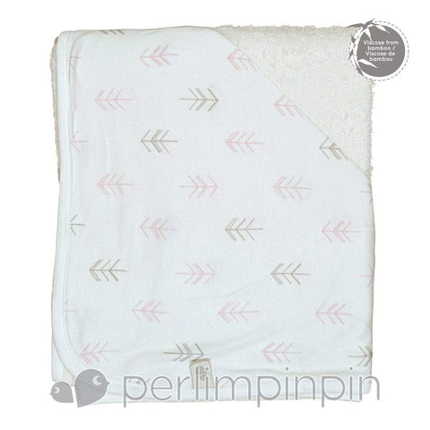 Bamboo hooded towel - arrow print