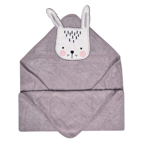 Baby hooded towel - bunny