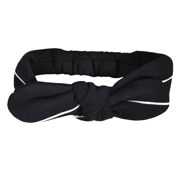 Baby headband - Black stripe