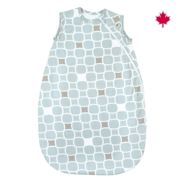 Blue tiles nap bag cotton