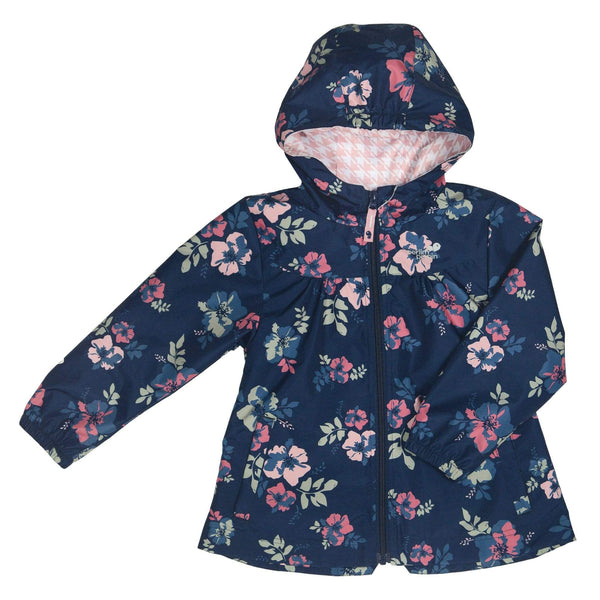 Mid-season coat - Vintage flowers