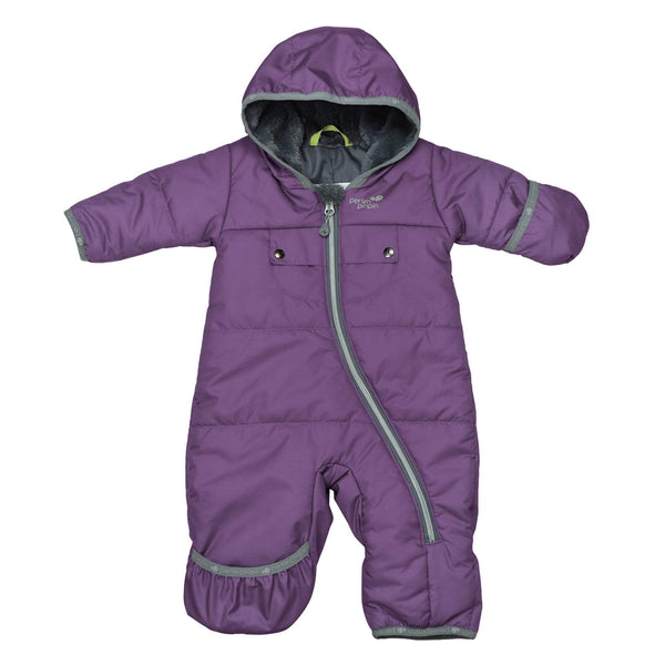 One-piece baby snowsuit - Purple