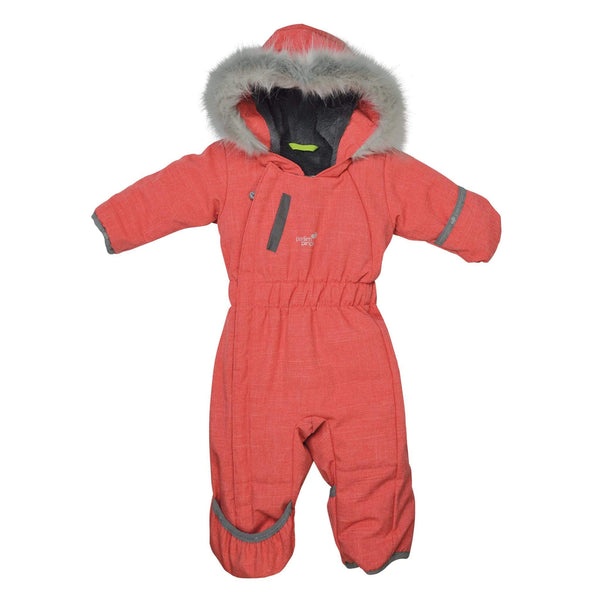 One piece baby snowsuit - langoustine