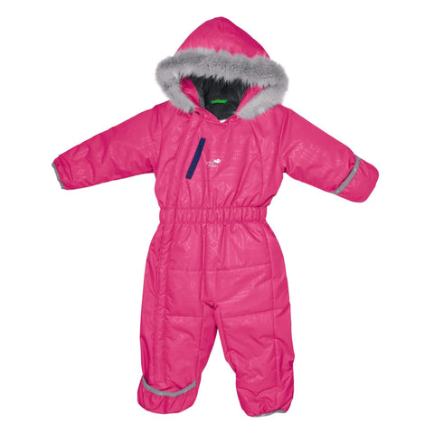 One piece baby snowsuit - Boreal aztec
