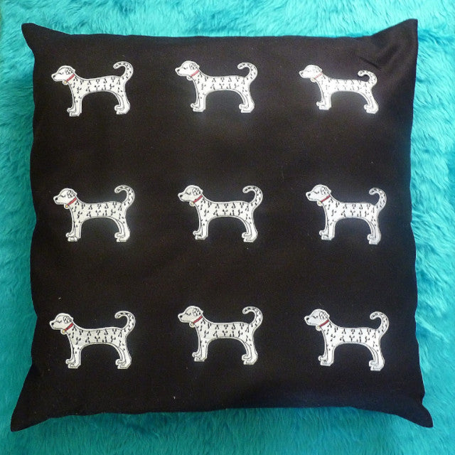 Dalmatian Cushion - Kate Garey