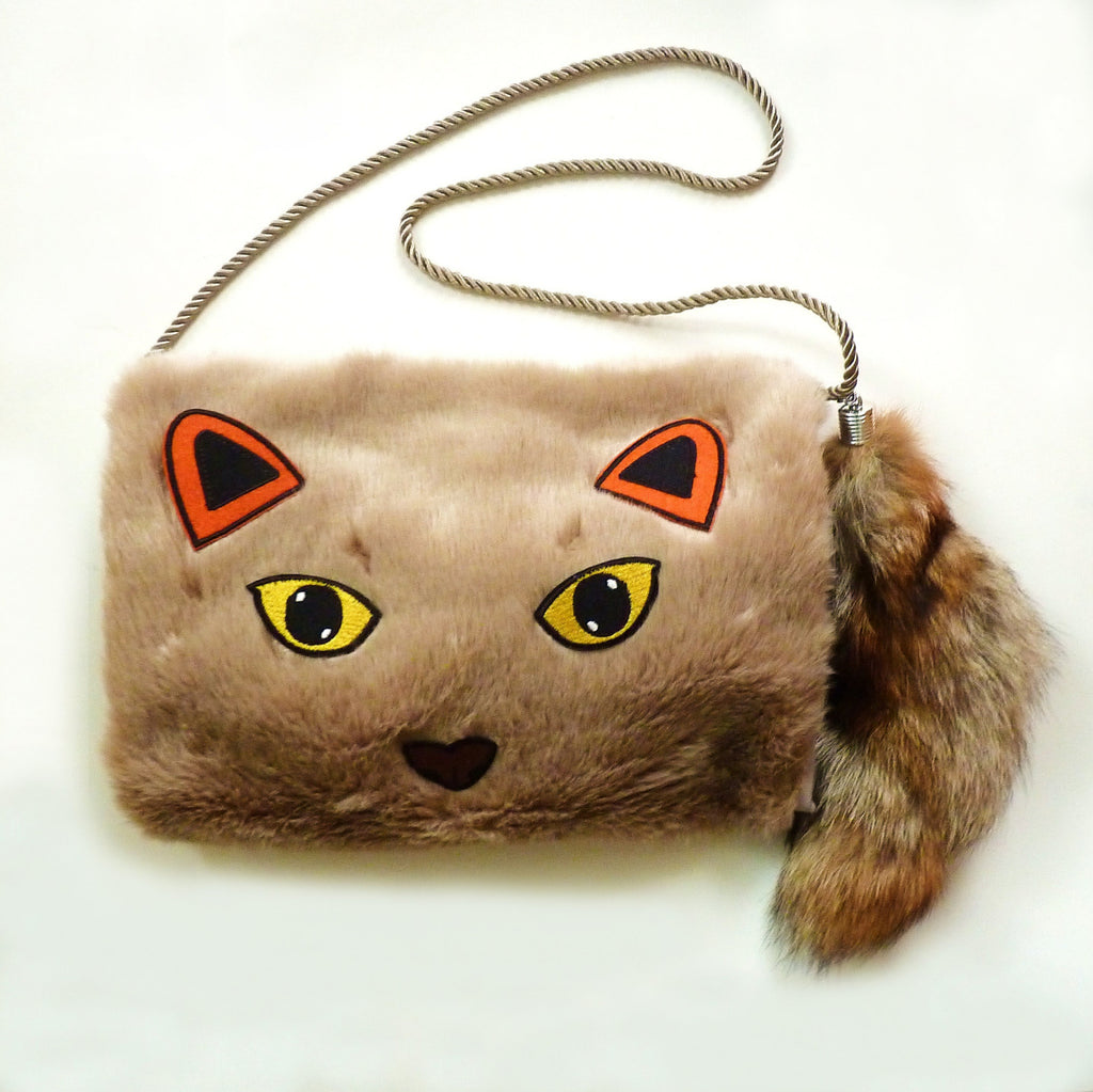 Wild Cat Faux Fur Muff *Limited edition* - Kate Garey