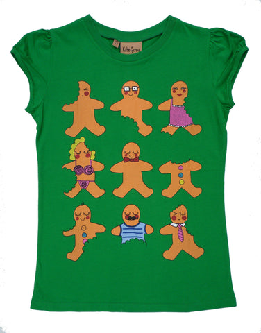 Gingerbread T-Shirt - Kate Garey