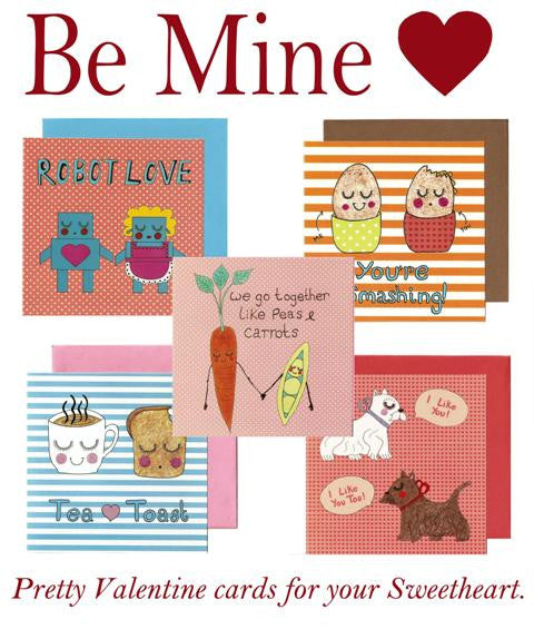 Be Mine Card Pack - Kate Garey