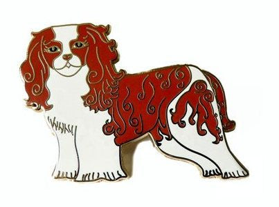 Cavalier Pin Brooch - Kate Garey