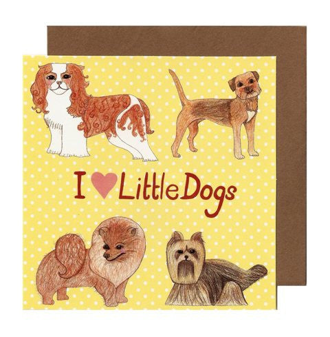 Little Dogs Card - Kate Garey