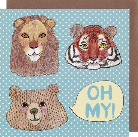 Oh My! Card - Kate Garey