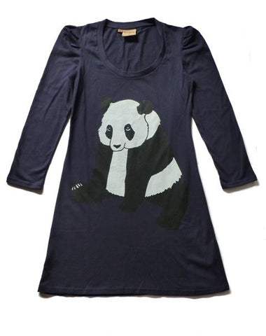 Panda Jersey Dress - Kate Garey