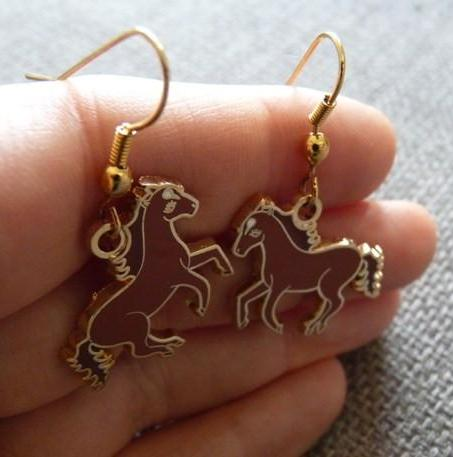 Wild Horses Earrings - Kate Garey
