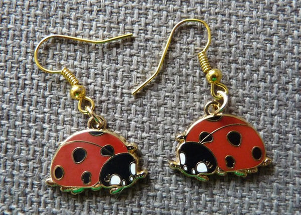 Ladybird Earrings - Kate Garey