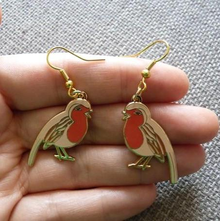 Robin Earrings - Kate Garey