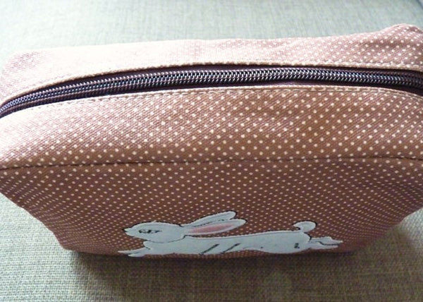 White Rabbit Cosmetic Bag - Kate Garey