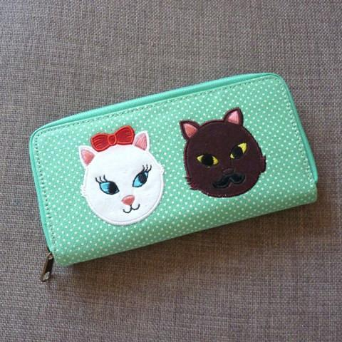 Kitty Crush Purse - Kate Garey