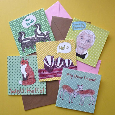 Card Bundle 50 pack - Kate Garey