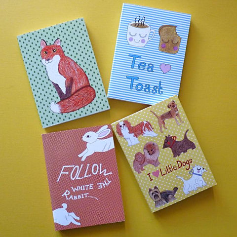 Set of 4 Notebooks - Kate Garey