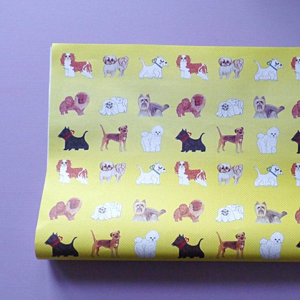 Little Dogs Gift Paper - Kate Garey