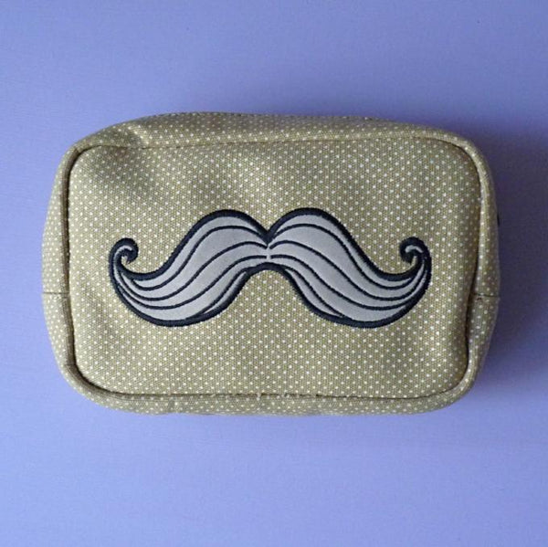 Dapper Cosmetic Bag - Kate Garey