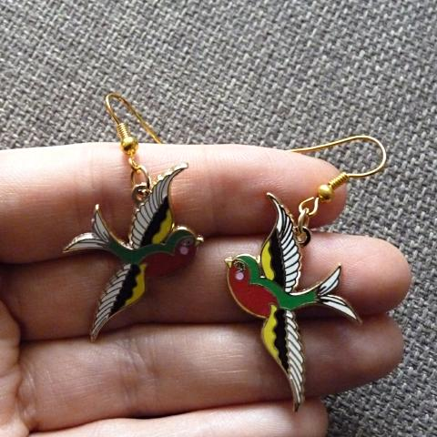 Swallow Earrings - Kate Garey