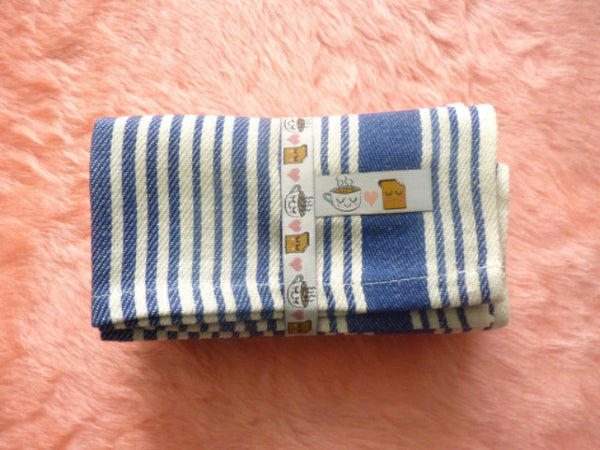 Tea & Toast Stripe Napkins - Pack of 4