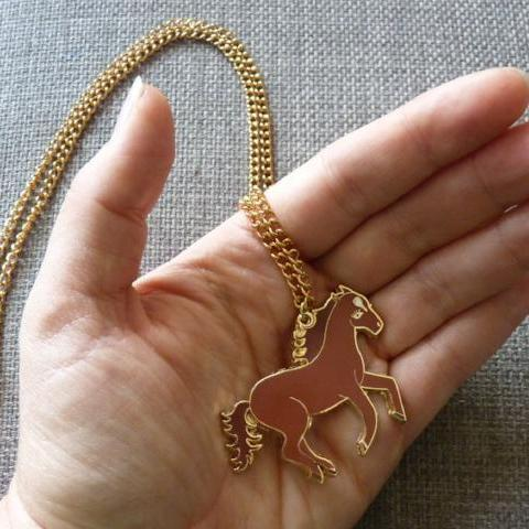 Wild Horse Necklace - Kate Garey