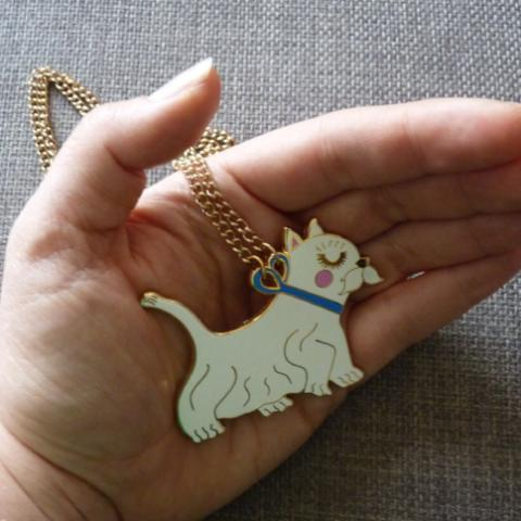 Westie Necklace - Kate Garey
